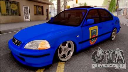Honda Civic İes Jandarma для GTA San Andreas