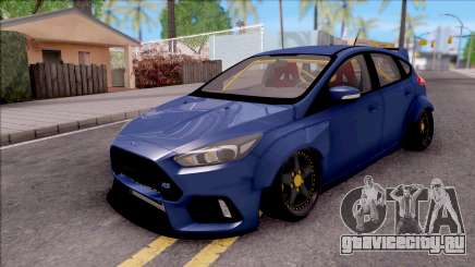 Ford Focus RS 2017 Fifteen52 Bodykits для GTA San Andreas