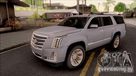 Cadillac Escalade 2016 для GTA San Andreas