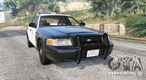 Ford Crown Victoria Police [replace] для GTA 5
