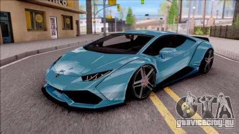 Lamborghini Huracan LB Team-eXtreme для GTA San Andreas