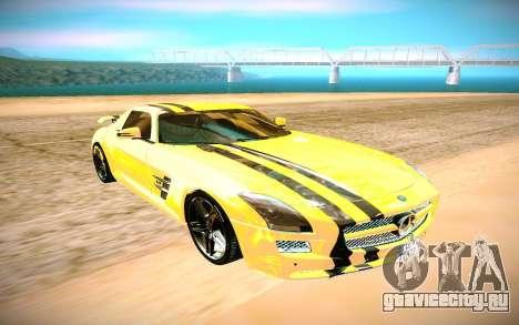 Mercedes-Benz AMG SLS для GTA San Andreas