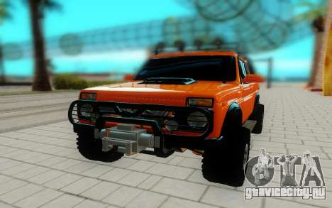 Lada Niva для GTA San Andreas вид справа