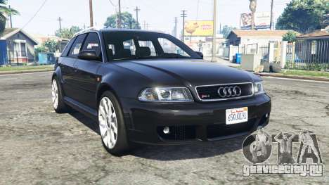 Audi RS 4 Avant (B5) 2001 v1.2 [replace] для GTA 5