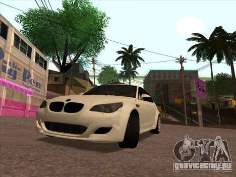 BMW M5 E60 Lumma Edition By Ulvi Agazade для GTA San Andreas