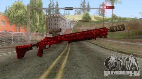 The Doomsday Heist - Pump Shotgun v1 для GTA San Andreas