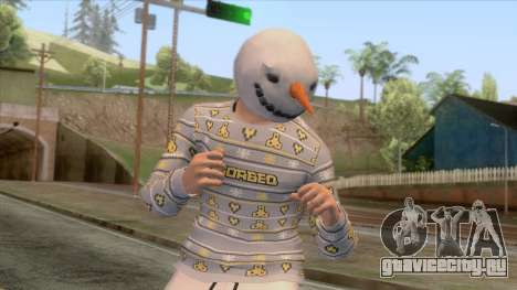 GTA Online - Christmas Skin 3 для GTA San Andreas