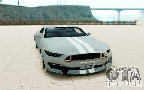 Ford Shelby GT350R для GTA San Andreas