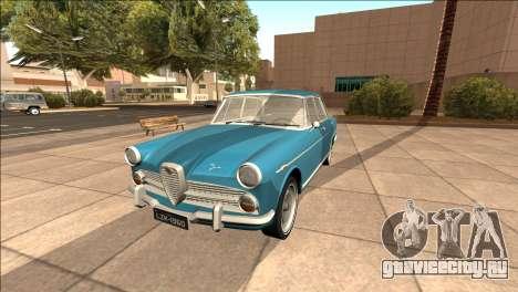 Альфа Ромео ФНМ 2000 JK в 1960 для GTA San Andreas