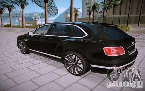 Bentley Bentayga для GTA San Andreas