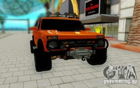 Lada Niva красный для GTA San Andreas