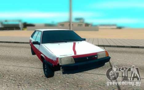 ВАЗ 2109 красный для GTA San Andreas