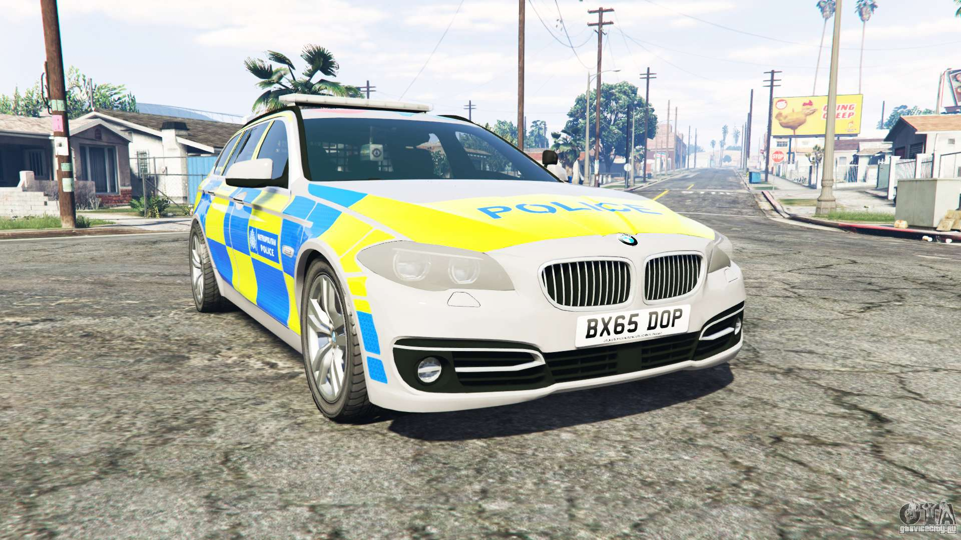 bmw 525d touring metropolitan police replace gta 5. Black Bedroom Furniture Sets. Home Design Ideas