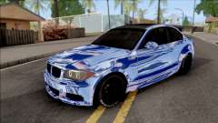 BMW 135i E82 Juca для GTA San Andreas