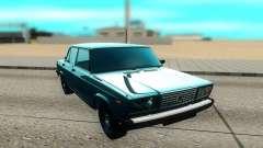 ВАЗ 2107 чёрный для GTA San Andreas