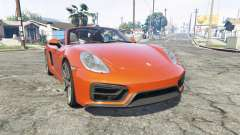 Porsche Boxster GTS (981) v1.2 [replace] для GTA 5