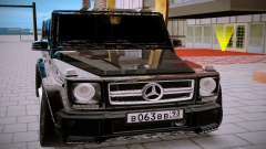Mercedes Benz G63 Brabus для GTA San Andreas