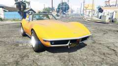 Chevrolet Corvette (C3) Stingray 1968 [replace] для GTA 5