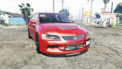 Mitsubishi Lancer Evolution IX [replace] для GTA 5