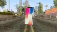 iPhone X White для GTA San Andreas