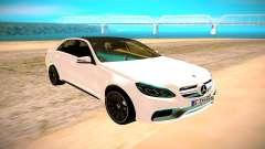 Mercedes-Benz E63 AMG белый для GTA San Andreas