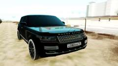 Land Rover Range Rover SVA чёрный для GTA San Andreas