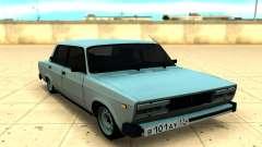 ВАЗ 2105 серебристый для GTA San Andreas