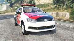 Volkswagen Voyage brazilian police [replace]