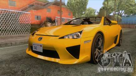 Lexus LFA Roadster 2013 для GTA San Andreas
