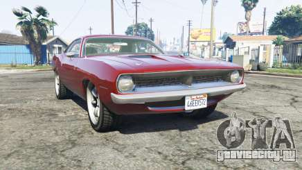 Plymouth Barracuda 1970 v2.0 [replace] для GTA 5