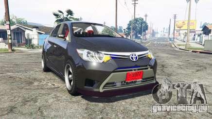 Toyota Vios (XP150) 2013 [replace] для GTA 5