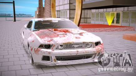 Ford Mustang GT500 для GTA San Andreas