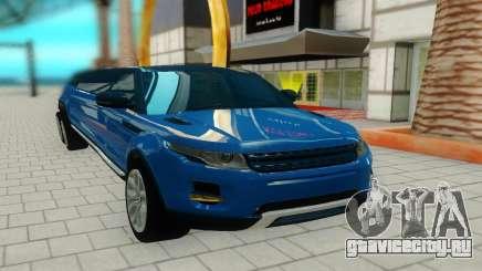 Range Rover 6x6 для GTA San Andreas