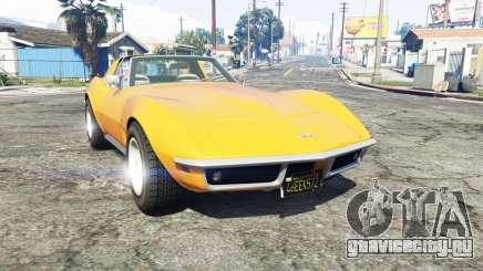 Chevrolet Corvette (C3) Stingray 1968 [replace] для GTA 5