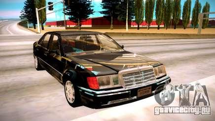 Mercedes-Benz E500 W124 1992 для GTA San Andreas