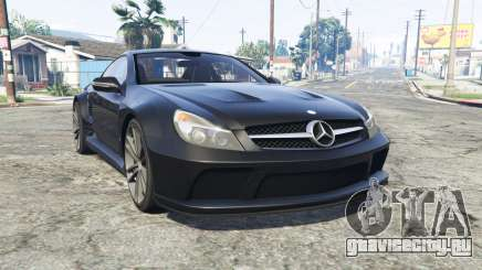 Mercedes-Benz SL 65 AMG (R230) v1.2 [replace] для GTA 5