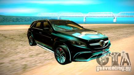 Mercedes-Benz ML63 AMG чёрный для GTA San Andreas