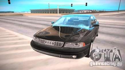 Audi A4 чёрный для GTA San Andreas
