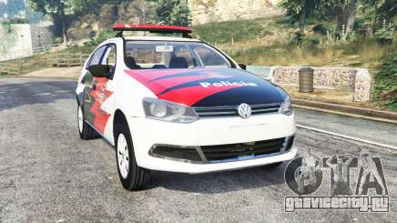 Volkswagen Voyage brazilian police [replace] для GTA 5