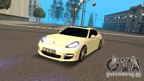Porsche Panamera Turbo Armenian для GTA San Andreas
