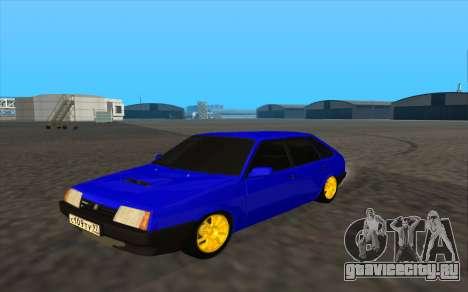 ВАЗ 2109 бирюзовый для GTA San Andreas