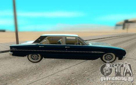 Ford Falcon для GTA San Andreas вид справа