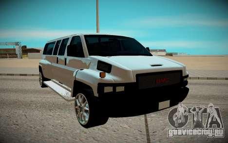 GMC Savana C5500 для GTA San Andreas