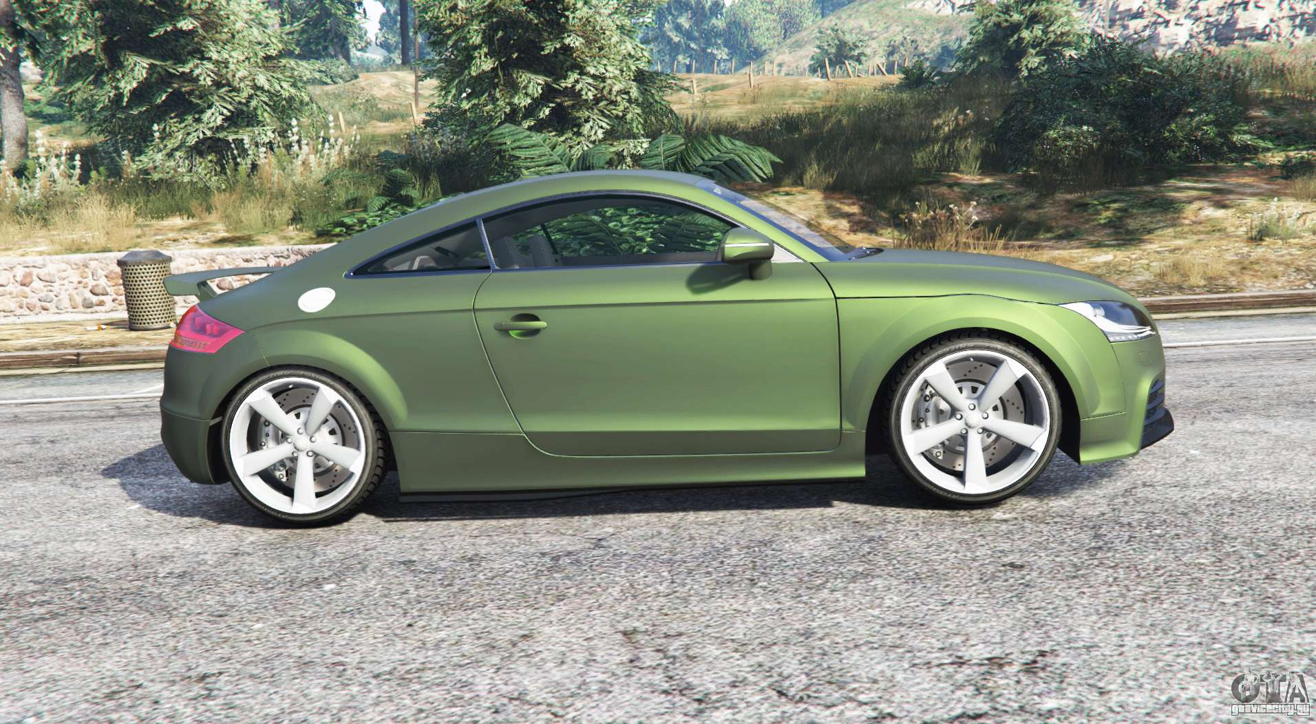 audi tt rs 8j 2013 v1 1 replace gta 5. Black Bedroom Furniture Sets. Home Design Ideas
