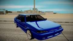 ВАЗ 2115 синий для GTA San Andreas