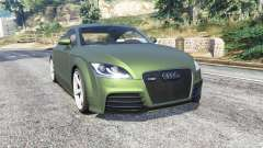 Audi TT RS (8J) 2013 v1.1 [replace] для GTA 5