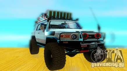 Toyota FjCruiser 2012 для GTA San Andreas
