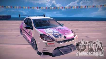 Renault Clio Cup для GTA San Andreas