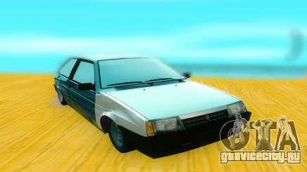 ВАЗ 2108 чёрный для GTA San Andreas