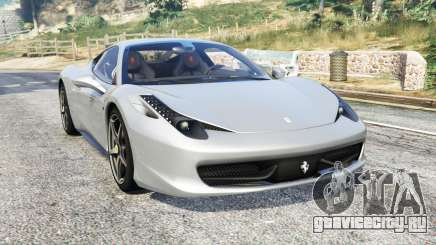Ferrari 458 Italia 2009 v2.3 [replace] для GTA 5